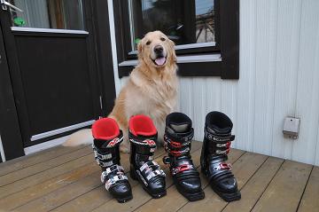 ブーツ保管
